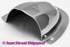Boat Polished Marine Stainless Clam Shell Vent Ventilator Wire Cover Outlet 6231