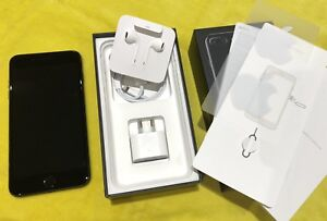 iPhone 7 Plus 128G Jet Black unlocked in perfect condition