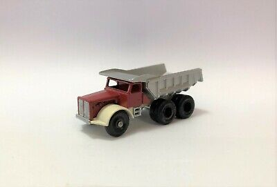 Vintage Lesney Matchbox 6c with early  Recesssed One Piece Rear Tires. Custom
