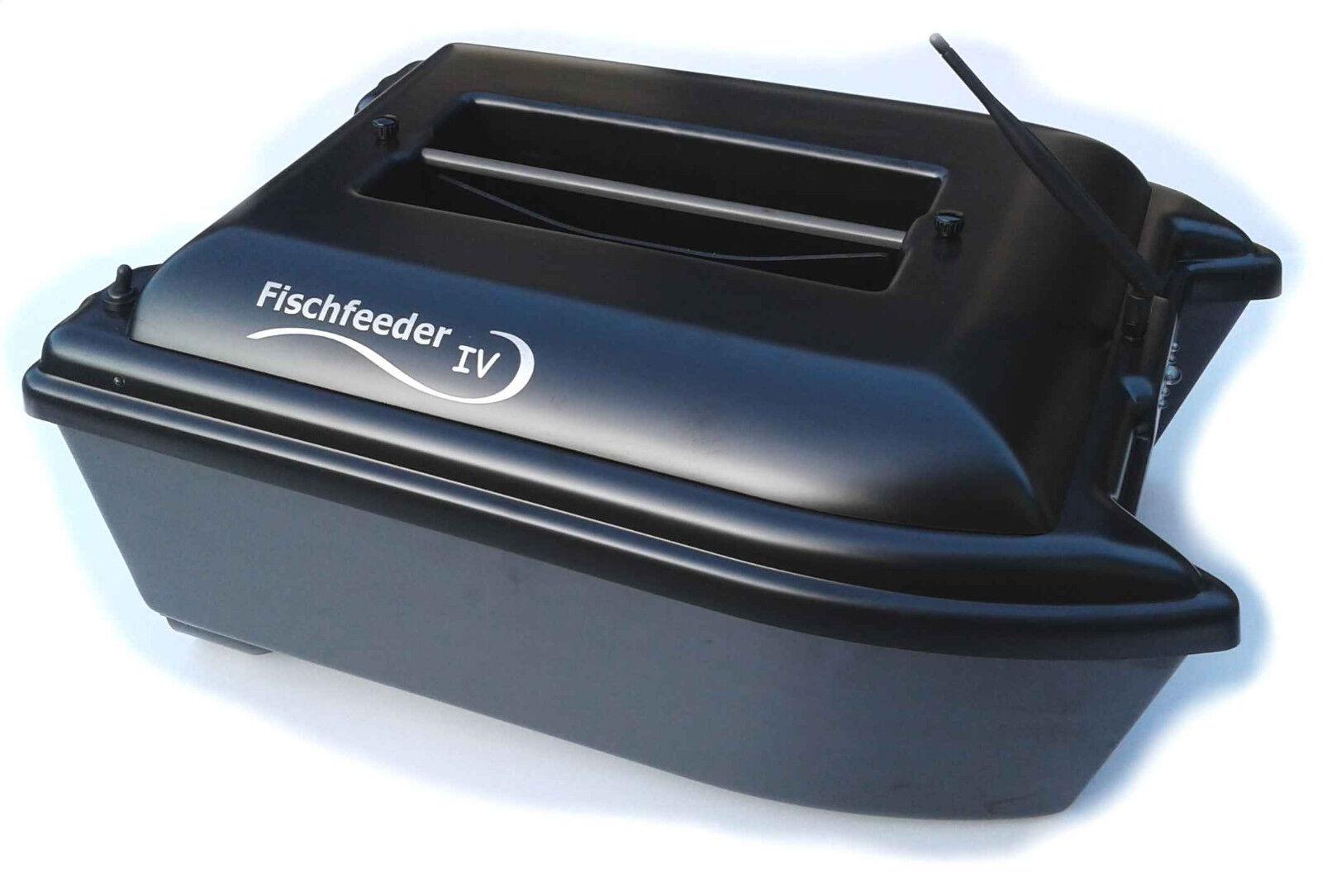 Fischfeeder 4 Futterboot Bausatz V2 Aktionspreis inkl. Taschenset