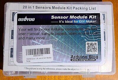 Osoyoo Sensor Module Kit 20 Sensors For Arduinoraspberry