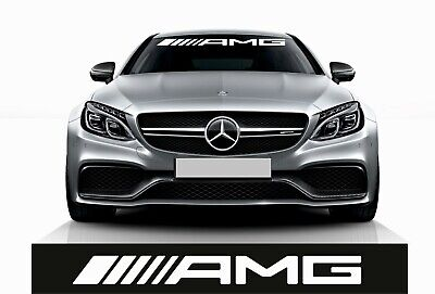 AMG Windschutzscheiben frontscheiben Aufkleber Sticker Mercedes Benz C63 A45