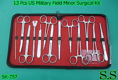 13 Piece Anatomy Dissecting Kit Surgical Medical Taxidermy Student Instruments