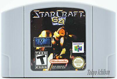 StarCraft 64 - Nintendo - N64 - Pal / Eur