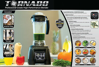 Tornado Professional Blenderninjavitamix-alternative1800w2.4hplicuadoranew