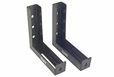 """Elite Screens 6"""" Wall and Ceiling Hanging L-Brackets for Manual/Spectrum/VMAX..."""