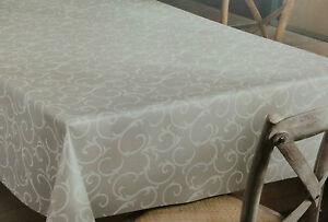 Tovaglia di tela cerata quadrato rotondo ovale lavabile - Tovaglia per tavolo ovale ...