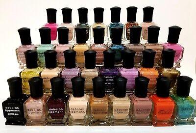Deborah Lippmann Nail Polish 0 5 Oz Full Size  You Choose Your Color  Brand New