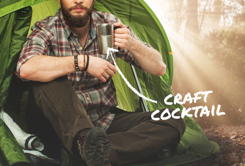 Everything You Need for Campsite Cocktails & Drinks