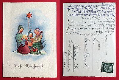 Künstler AK WEIHNACHTEN 1930 Flechsig Kunstkarte Nr. 660 ( 6743