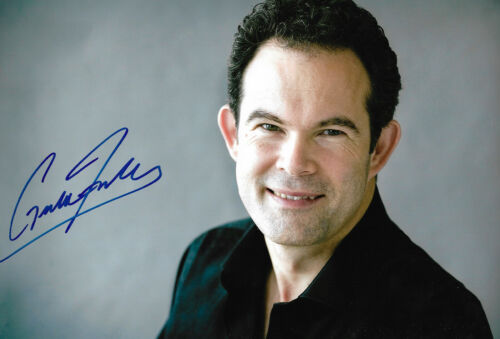 Gerald Finley Opera signed 8x12 inch photo autograph