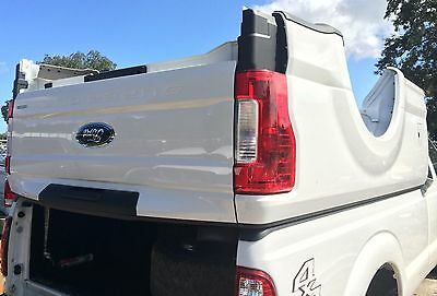 2018 Ford OEM F250 F350 Aluminum 8FT LONG BED New Takeoff Tailgate Rear Bumper for sale  Davenport