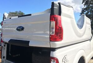 2018 Ford OEM F250 F350 Aluminum 8FT LONG BED New Takeoff Tailgate Rear Bumper