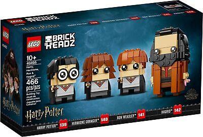 LEGO 40495 Harry, Hermione, Ron & Hagrid BrickHeadz FREE SHIPPING