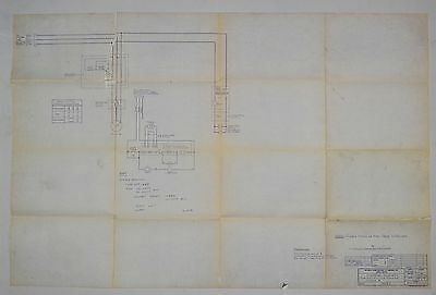 Ex-cell-o Electrical Schematic For 602 Milling Machine Class B 52-14265 Rr879
