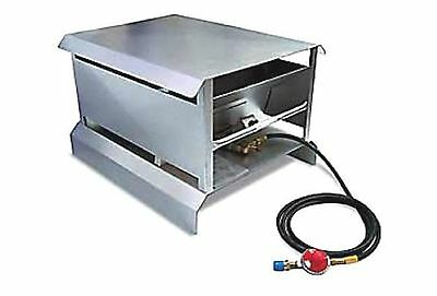 Red Dragon CH 220 Portable 200,000 BTU Propane Heater with 10-Foot Hose