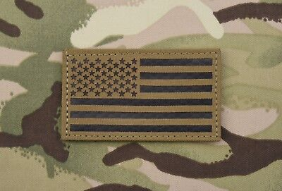 Infrared Coyote Brown IR US Flag Patch Army Special Forces Green Beret CAG SOCOM