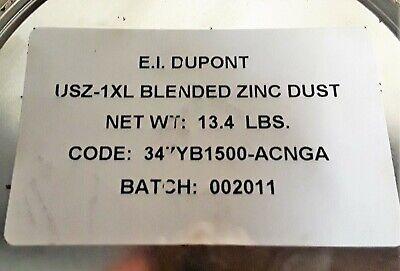 Us Zinc Powder Dust 3 Pound Package 98.5 Pure