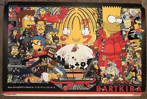 Bartkira Bart The Simpsons Akira Packatrix Print Poster Mondo Movie Tyler Stout