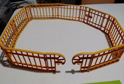 Playmobil Yellow Fence Enclosure 3634 3650 Zoo/Aquarium 17 Pcs.