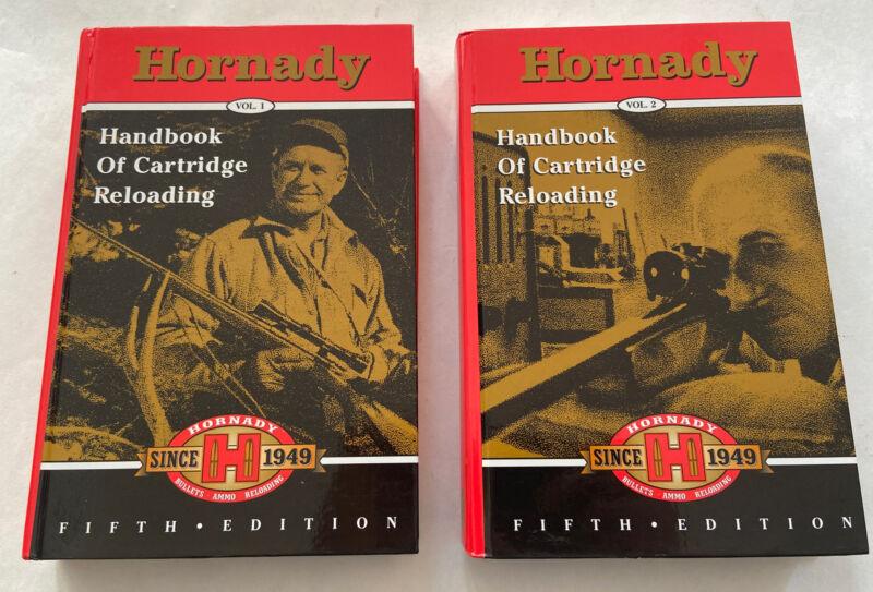 Hornady Handbook of Cartridge Reloading Fifth 5th Edition Volume 1 + 2 2000