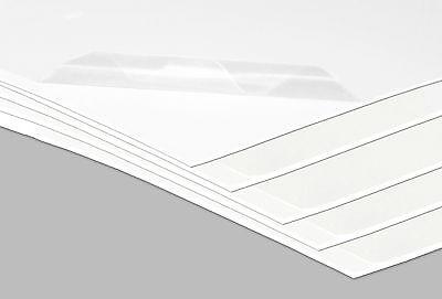 3 Kunststoffplatten Hart PVC Platte Kunststoff 2000 x 1000 x 1 mm weiß