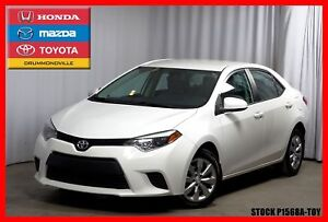2014 Toyota Corolla LE / CAM RECUL / SIEGES CHAUFF