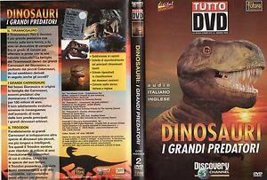 DINOSAURI-Grandi-predator-DVD-Audio-ITALIANO-INGLESE-Discovery-Channel-2001