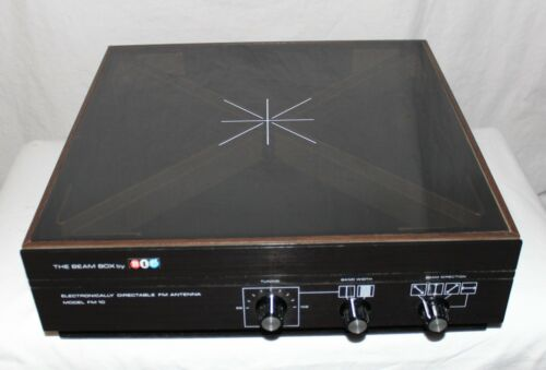 The Beam Box by BIC FM-10 Electronically Directable Indoor Antenna Free Ship
