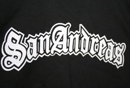 Vintage San Andreas Grand Theft Auto Video Game Promo T-Shirt NOS Unused Sz LG