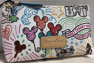 NEW*Dooney & Bourke*Disney Parks*Sketch*Cosmetic/Utility Bag*18290C S220