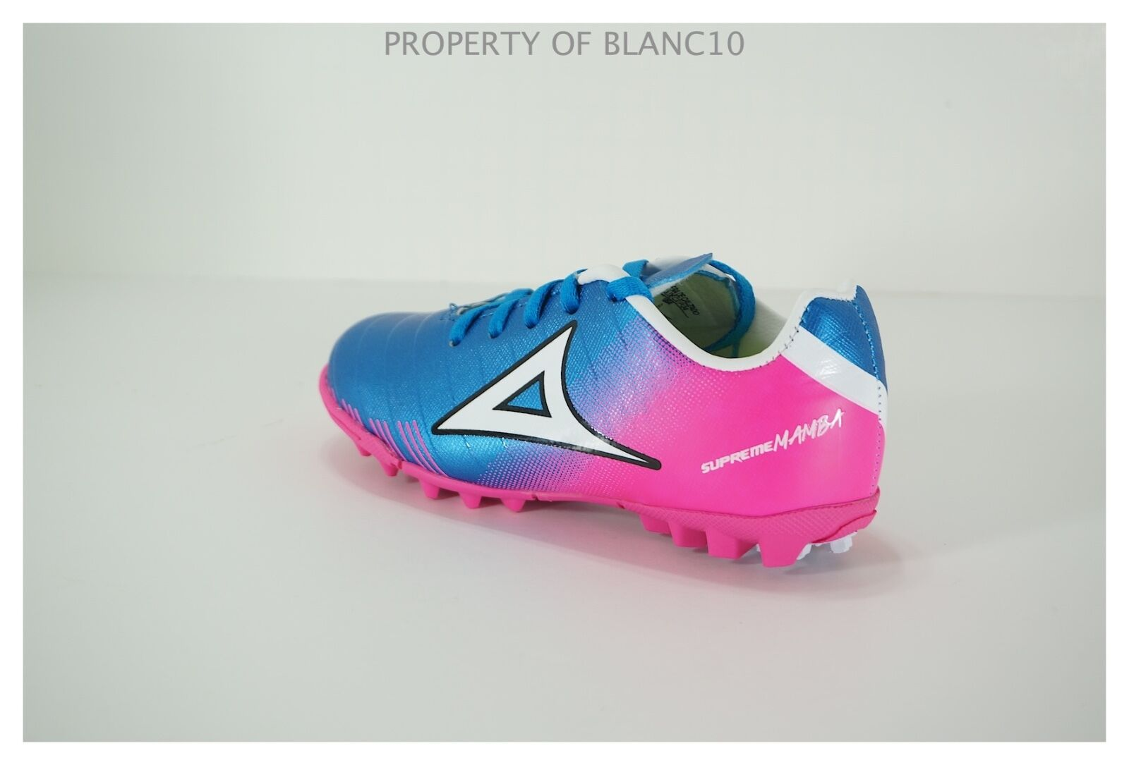 cheaper 95949 e9879 ... Pirma TODDLER Turf Soccer Cleats-Style 180-BluePink-Supreme Mamba ...