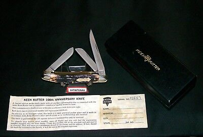 "Schrade Walden Knife Keen Kutter 1869-1969 Commemorative NOS 3-9/16"" Closed Rare"