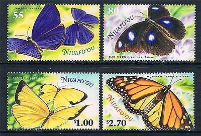 Niuafo'ou 2000 Butterflies SG297/300 MNH