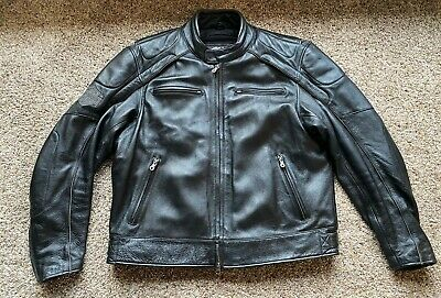 Harley Davidson Men's Willie G Skull leather jacket 2XL w/ zip-out warmth liner