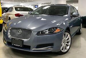 2013 Jaguar XF 3.0L SC ACCIDENT FREE NAVI BSM CAM CERTIFIED