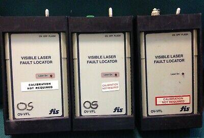 Fis Ov-vfl Fiber Visible Laser Fault Locator Sold Individually
