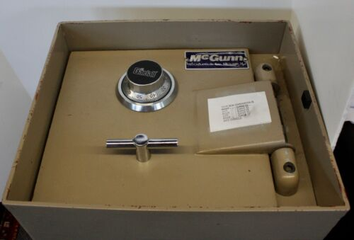 McGUNN Heavy Duty Steel In-Floor Safe.Standard Dial Combo. Cover-Plate w/Springs