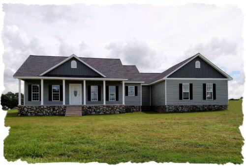 Ranch House Plans 1842 SF Open Floor Split 3 Bed 2 Bath/Ofc (Blueprints)#1011