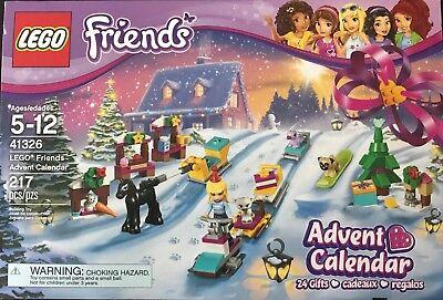New Lego 41326  Friends Advent Calendar  Building 217 Piece Set