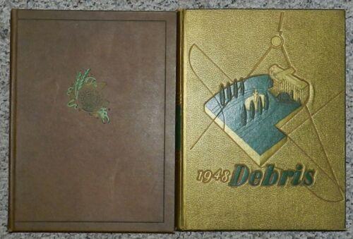 The Debris Yearbook - Purdue University Lafayette, Indiana 1941 1948 1957