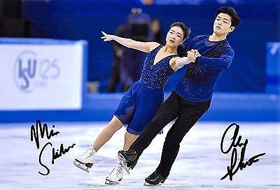 Maia SHIBUTANI / Alex SHIBUTANI  - USA - Eiskunstlauf - Foto sig. (1)