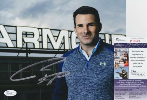 Kevin Plank Signed 8x10 Photo w/ JSA COA #P17668 Under Armour CEO & Founder