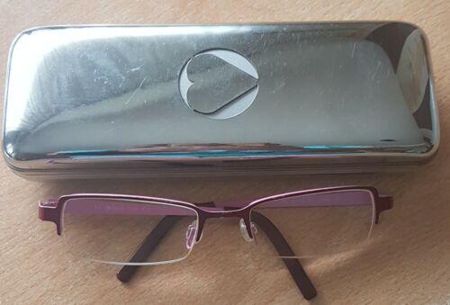 Morgan Mädchenbrille rot-rosa