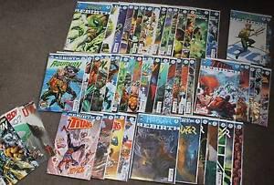 Bulk Comic Sale - Aquaman, Hal Green Lantern, Titans, Hellblazer Heidelberg Banyule Area Preview