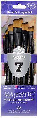 RMAJ-301 Royal Majestic Angular set Artist - Craft - Face & Body Paint Brush (Angular Faces)