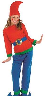 Kinder Jungen Mädchen Frecher Gnome Pixie Elfe Weihnachten Tv - Freche Elfen Kostüm