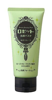 Rosette Cleansing Pasta Sea Mud Smoth Cleansing Foam 120g from Japan