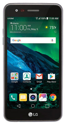 LG Fortune M153 - 16GB - Black (Cricket) Smartphone