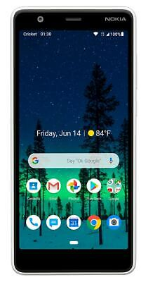 Brand New Nokia 3.1C, 5.45HD Display TA1141, Cricket Wireless, 32GB Android